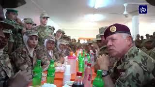 جلالة الملك يزور قيادة لواء رد الفعل السريع - (12-10-2018)