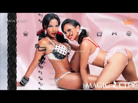 "Behind Scenes at ""Magic City"": PS3 Theme Dancers (Virgo and Lisa) - Pt 1"