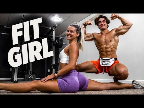 I TRIED A FIT GIRL GLUTE WORKOUT | I MADE HER ANABOLIC FRENCH TOAST