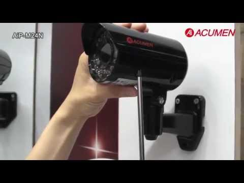 AiP-M24N-45N0B (Mali) IP Camera Easy Setup from Ai ACUMEN / Лёгкость установки IP камеры