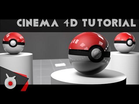 Tutorial: Cinema 4D - Making a Pokeball