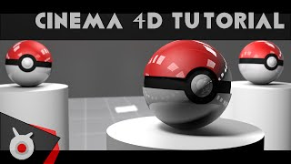Tutorial: Cinema 4D - Making a Pokeball