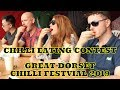 Chilli Eating Contest - Great Dorset Chili Festival 2019 - Saturday 3rd August