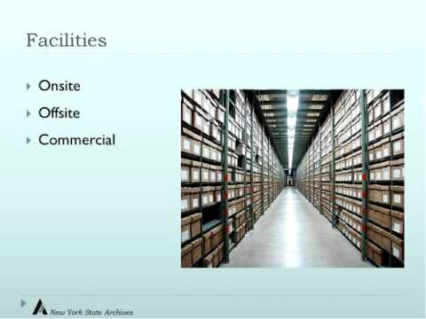 Foundations of Inactive Records Management