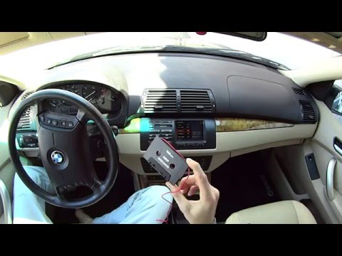 Обзор кассета AUX адаптер / Car Cassette Adapter