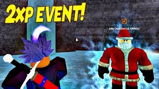 Defeating Santa! | Free 2xp Event | Dragon Ball Z Final Stand | Roblox | iBeMaine