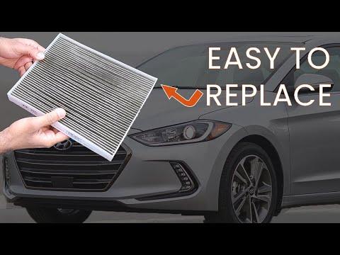 Cabin Air Filter Replacement [EASY] – Hyundai Elantra – 2017/2018 – How to / DIY