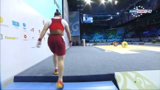 Тяжелая атлетика. Чемпионат Мира. Женщины до 53 кг. 10.11.2014 год.
