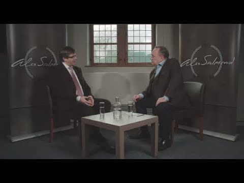 EXCLUSIVE: Alex Salmond talks to Carles Puigdemont