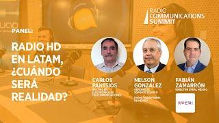 Panel: Radio HD en Latam, ¿cuándo será realidad?