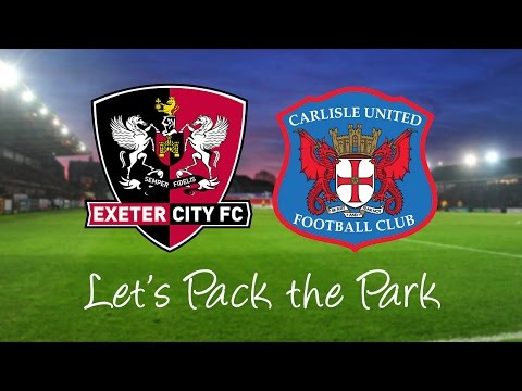 Let's Pack the Park for City vs Carlisle United | Exeter City Football Club