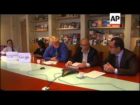 Google negotiating book-scanning deal in France