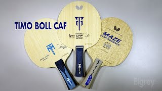 BUTTERFLY Timo Boll CAF. Sound comparison. Review #butterflytimobollcaf