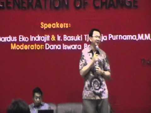 """BTP Dalam Acara Seminar Kanisius Fair (17/9-2011) """"Generation of Change"""""""