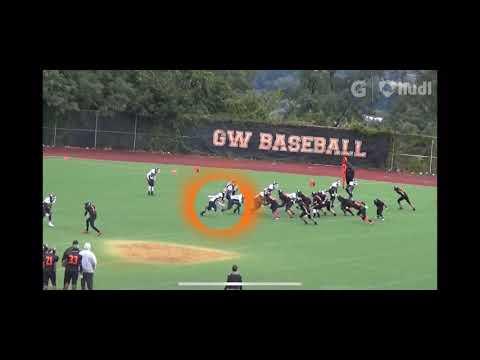 Brian Castro long Island City high school football highlights
