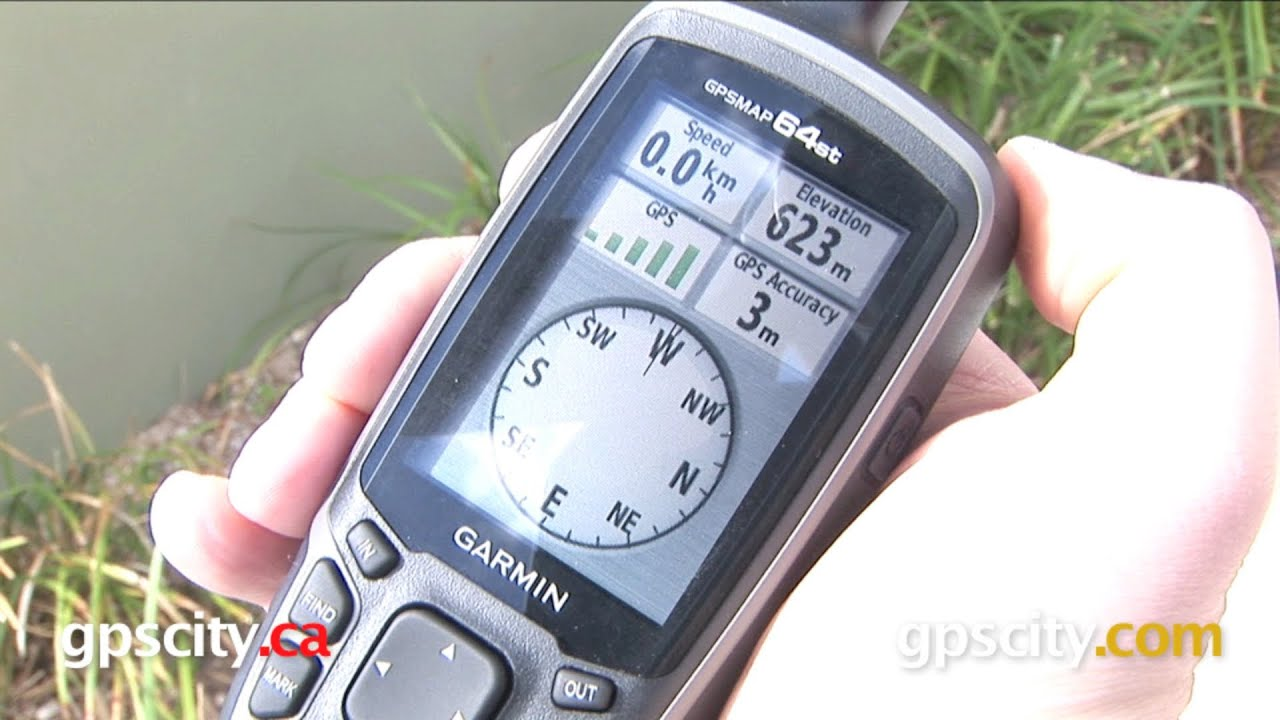 Garmin Gpsmap  Series One Minute Overview With Gps City