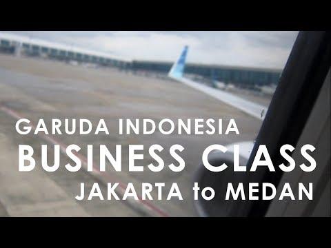 Garuda Indonesia Business Class | Jakarta to Medan