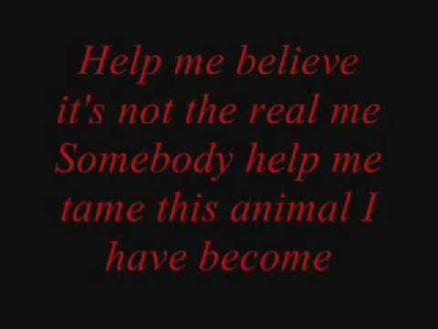 three days grace - animal i've become lyrics