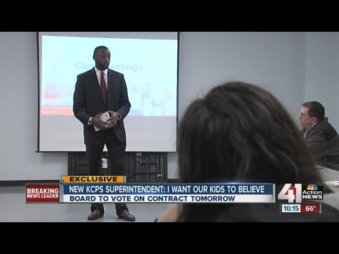 KCPS Superintendent Mark Bedell on his life, passion for students, education