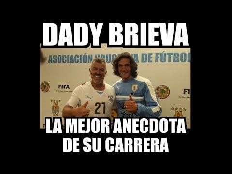 DADY BRIEVA - LA MEJOR ANÉCDOTA DE SU CARRERA (en Uruguay)