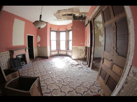 UE - Exploring Abandoned 1876 Victorian Mansion