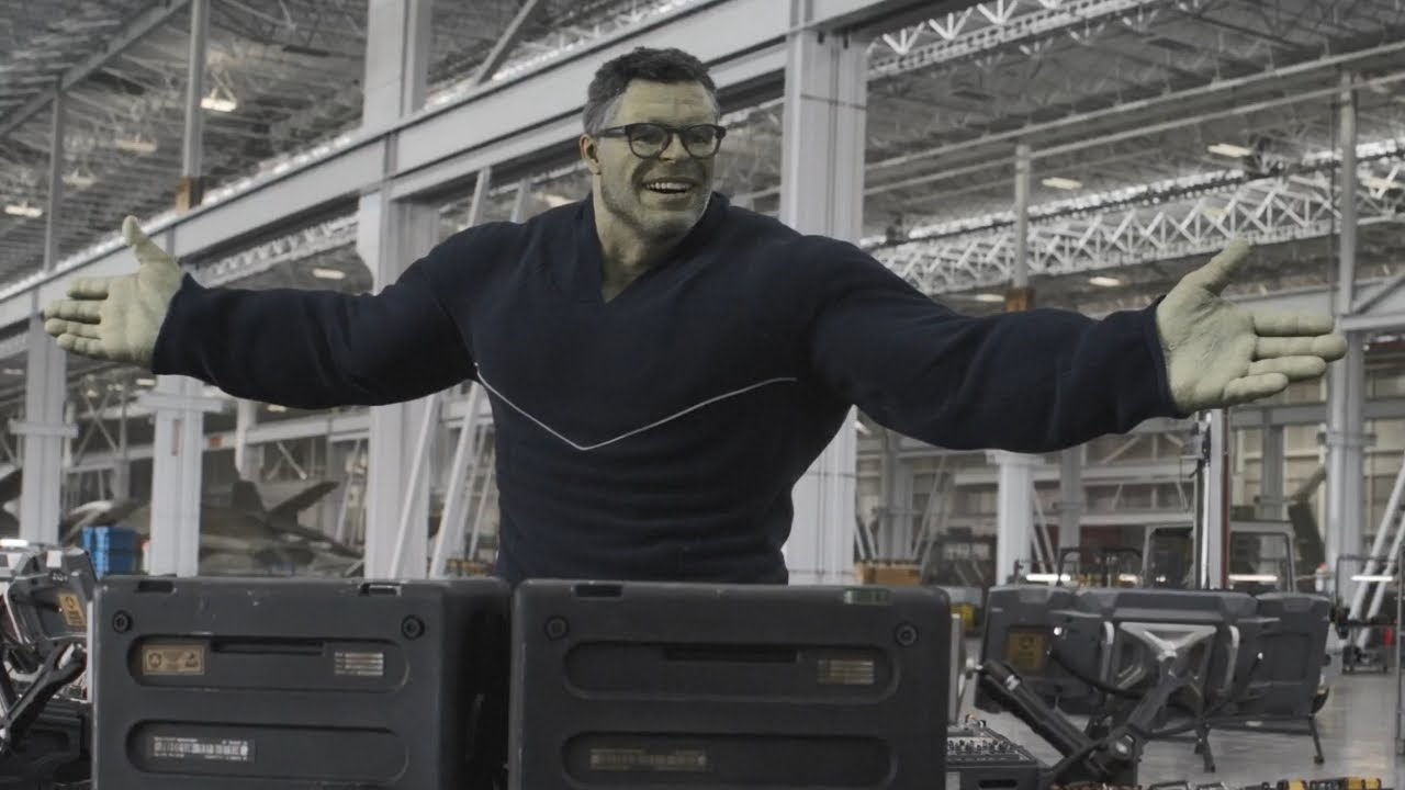 Hulk Accidentally Invented An Immortality Machine In 'Endgame'