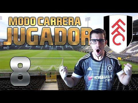 "FIFA 16 ""EL FULHAM ME QUIERE!"" #8 MODO CARRERA JUGADOR | SAUUK"