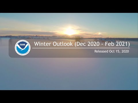This video summarizes NOAA's winter outlook for temperature, precipitation, and drought for the 2020-21 winter.