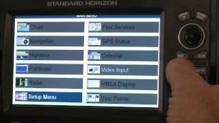 Standard Horizon CP Series Chartplotters