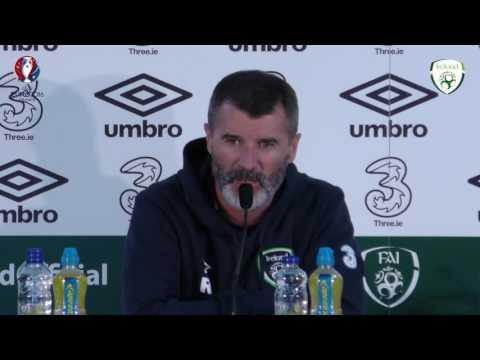 Roy Keane on Robbie Keane