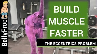 eccentric training for muscle growth - negatives/eccentric training and a muscle building trick