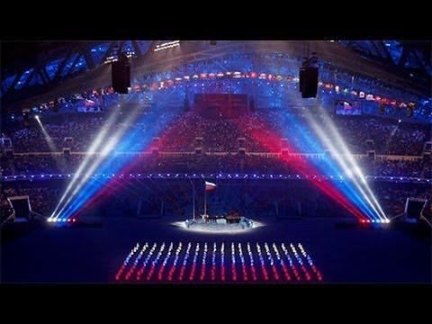 видео: Открытие Олимпиады СОЧИ 2014 SOCHI 2014