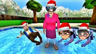 Scary Teacher 3D - New Levels Christmas Tree Prank (Android/iOS)