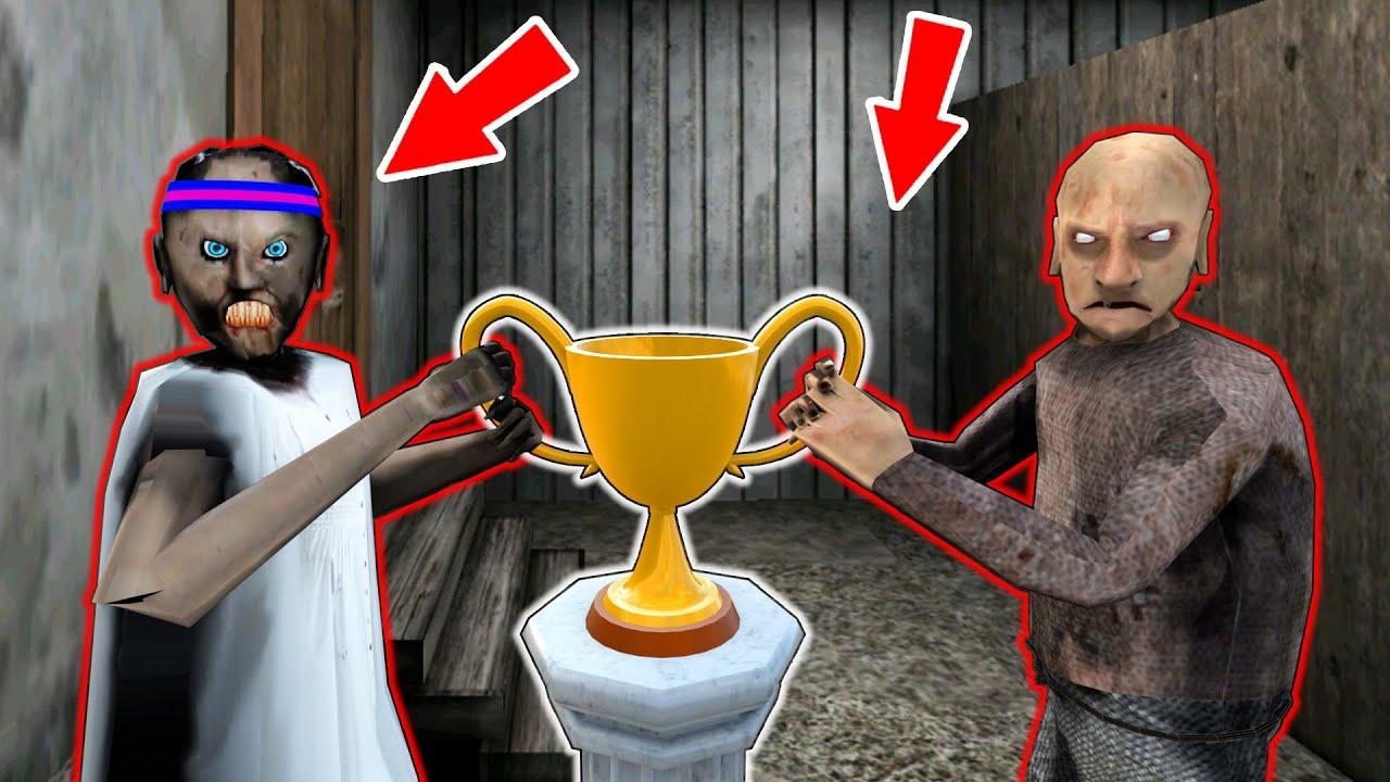 Olympic Games : Granny vs Grandpa, Scary Teacher - funny horror animation parody (p.80)