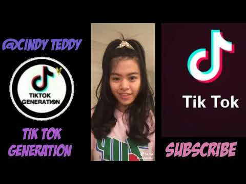 KUMPULAN VIDEO TIK TOK @CINDY TEDDY HITS 2018 | TIK TOK GENERATION