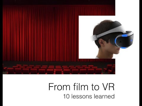 Michael Reilhac explains how to tell immersive movie stories in virtual reality