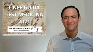 Commento Decreto Ministeriale Test Medicina 2021 (D.M. 730 del 25-6-21) + Consigli