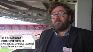 Dr Richard Bailey talks about the Football Collective at 'Future Football: a Design for Life'
