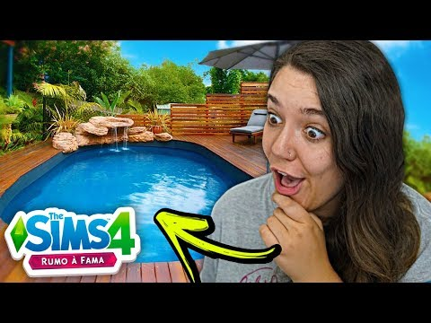 REFORMEI O QUINTAL TODO! - The Sims 4 Rumo a Fama