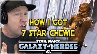 Legendary Chewbacca Event 7 Stars Undergeared BH - Star Wars: Galaxy Of Heroes - SWGOH