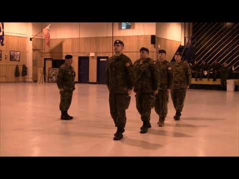 Canadian Forces - Drill Lesson Example for Primary Leadership Qualification (PLQ)