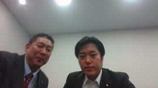 祝 丸山穂高衆議院議員 NHKから国民を守る党に入党