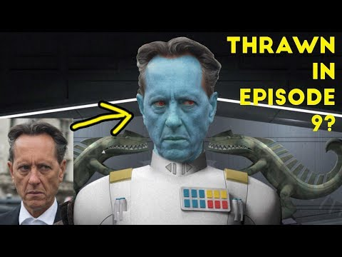 Will Richard E Grant Play THRAWN in Star Wars EPISODE 9?