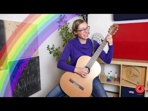 """Musik mit Katharina I """"Ich schenk dir einen Regenbogen"""""""