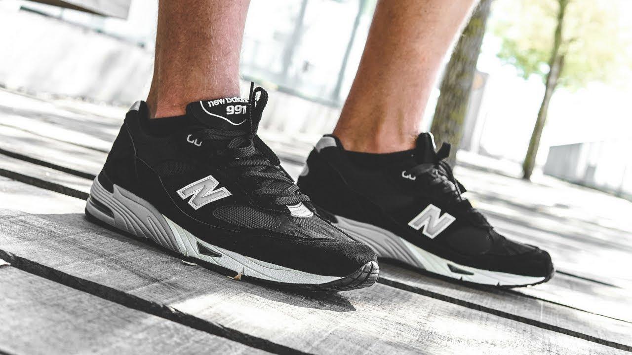 "0099558efd86 New Balance 991 ""Black Silver"""