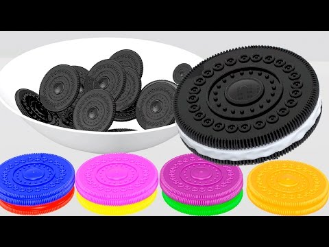 Thumbnail: Learn Colors with Oreo Cookies for kids animation 3D