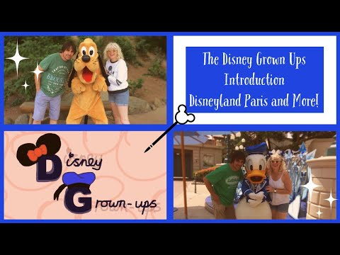 Disney vlog introduction