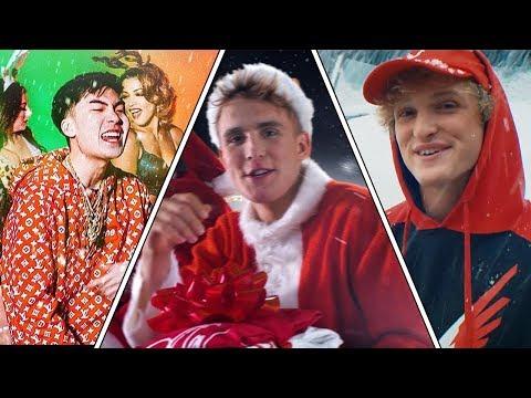 The WORST Christmas Songs On  Ricegum, Jake Paul , Logan Paul