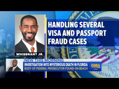 Mystery ensues after federal prosecutor found dead in Florida Beranton Whisenant Jr