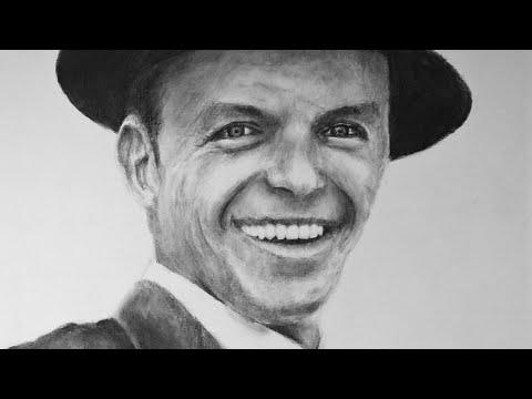 Frank Sinatra Speed Art | 7h 24m Timelapse